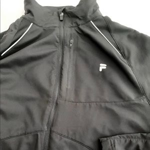 Fila Light Jacket Black